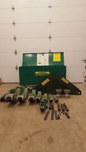 Greenlee 885 Rigid Bender 1 1 4 To 5 Ready To Go To Work