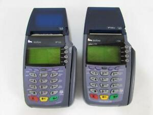 Lot Of 2 Verifone Vx510 Credit Card Terminal Reader Omni 5100