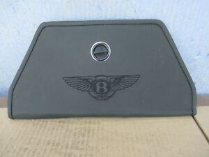 Bentley Continental Gt Emergency Reflective Triangle Leather Case Holder Only