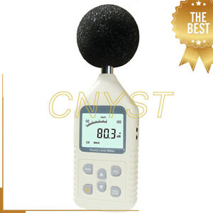 Gm1358 30 130db Digital Sound Level Meter Decibels Logger Portable Noise Tester