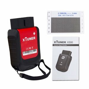 Xtuner X500 Android Car Scanner Universal Obdii Bluetooth Car Diagnostic Tool Qc
