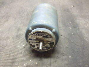 Superior Electric Slo syn Type Ss400be p1 120 Volt Rpm 72 l 68