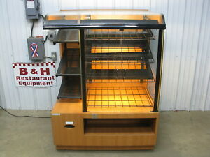 Csc 42 Self Serve 2 Door Glass Bakery Donut Dry Display Show Case 3 6