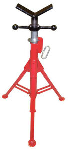 Wheeler rex 850 Folding Pipe Stand W V Head