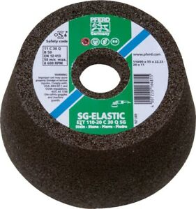 Pferd 61806 5 Flaring Cup Wheel 5 8 11 Thd T11 Silicon Carbide Steel 2