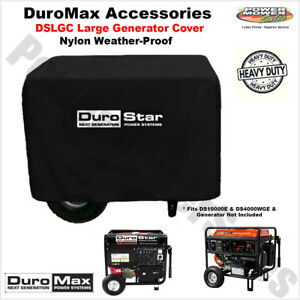 Durostar Large Weather Resistant Portable Generator Dust Guard Cover Dslgc