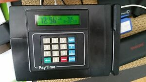 Acroprint Paytime Badge System Time Clock