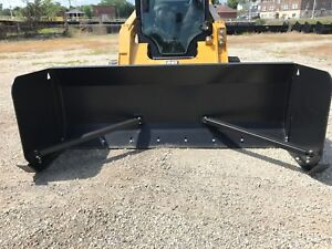 Linville 8 X 36 Skid Steer Snow Pusher Plow Free Shipping