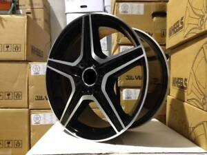 17 Amg Black Rims Wheels Fits Mercedes Benz C Class C280 C320 C350 C300 C250