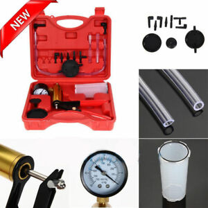 Brake Bleeder Vacuum Pump Tester Kit Gauge Auto Diagnostic Tool F Car Truck My