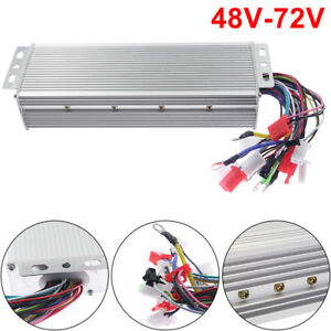1x 1500w Electric Bicycle E bike Scooter Brushless Dc Motor Speed Controller New