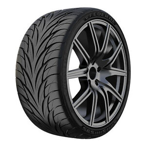 17 Federal Ss 595 Tire 205 40zr17 4 New Tires 205 40 17 80w