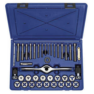 Tap And Die Set 40 Pc carbon 1835092