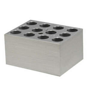 Benchmark Scientific Aluminum Block 12x15 16mm Tubes Bsw1516