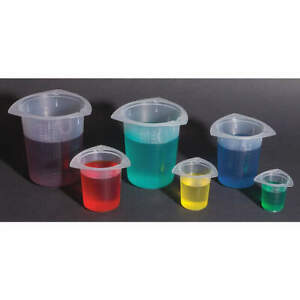 Graduated Beaker Set 50ml 1000ml pp pk30 Btcst30