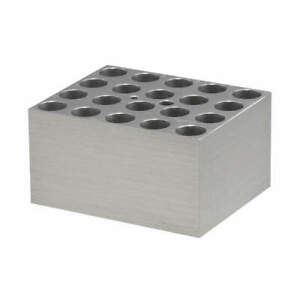 Benchmark Scientific Aluminum Block 20x13mm Centrifuge Tubes Bsw13