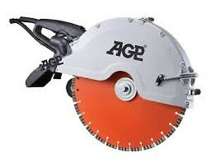 Agp C 16 Hand Held Cut off Saw For 150mm Depth Cutting Of Concrete wet And Dry
