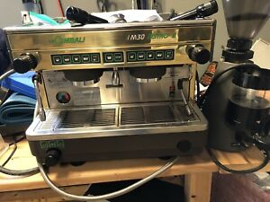 La Cimbali M30 Bistro 2 2 Group Espresso Machine With Grinder