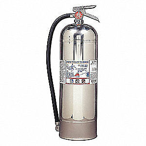 Kidde Fire Extinguisher water a 2a Pro2 5wm