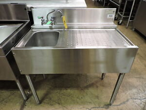 Krowne Kr 23 31l Commercial 1 compartment Bar Sink