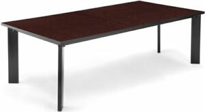 Conference Table 36 D X 72 W In Mahogany Finish Office Table