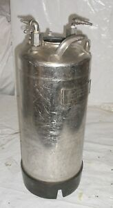 Alloy Products Stainless Steel Pressure Tank Missing Lid