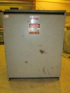 General Electric 300 Kva Dry type Transformer 2400d 480d X 480d