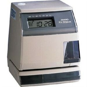 Amano Pix3000xn Automated Time Validation System 7