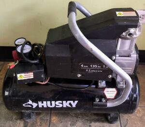 Husky Air Compressor 4 Gallon 135psi Electric Air Compressor spg029429