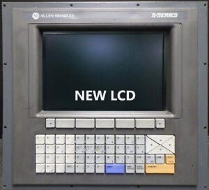 Lcd Monitor Upgrade For 12 inch Allen Bradley 8520 Cop With Cable Kit