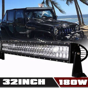 30 Inch Led Light Bar Combo 2x 18w Pods John Deere Ar60250 2955 4430 4440 4455