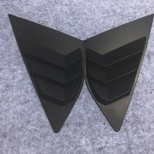For Ford Focus Hatchback 4d Side Window Louvers 2pcs Practical Useful Reliable