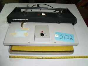 Seal Commercial 210 Dry Mounting Laminating Press 115v 1300watts Photography