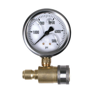 Test Gauge Assembly With Quick Connects Cold Water 0 5000psi