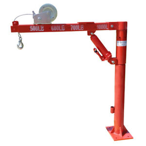 1 5 Ton Cherry Picker Truck Type With Winch Crane Hoist 1000 Lb Lift