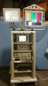 Smith Nephew Endoscopy System Dual Monitors Planmedica Cart Components