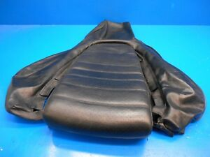 Porsche 911 964 968 944 Oem Front Seat Upper Leather Black Great Condition