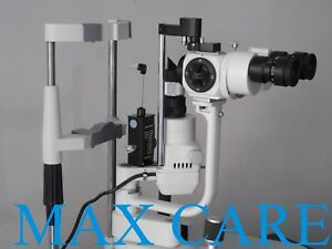 Applanation Tonometer With Two Step Slit Lamp