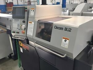 Used Citizen Bl12 Cnc Swiss Turning Center Fixed Headstock Lathe Barfeed 12mm
