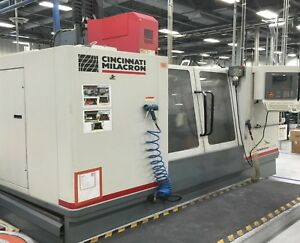 Used Cincinnati Arrow 1250 Cnc Vertical Machining Center Mill 4th Ready Ct 40