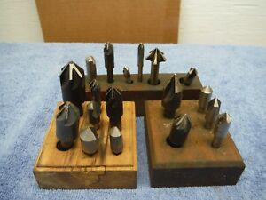 Counterbore Sets 19 Pieces 3 Loose Sets With Base Lot 19