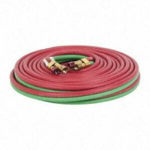Weldcote 50 Foot Twin Gas Welding Hose Grade T For All Fuel Gases