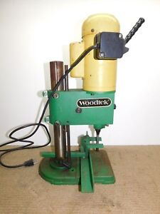 Woodtek Hollow Chisel Mortiser Mortising Machine 1 2hp