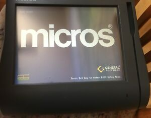 Micros Workstation 4 Lx System Unit 400714 001 With Base