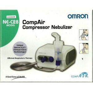 Omron Air Compressor Ne C28 Nebulizer Inhaler 100 Orignal Product Free Shipping