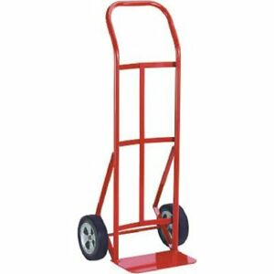 Milwaukee 47109 600 pound Capacity Flow Back Handle Hand Truck With 8 inch Ace T