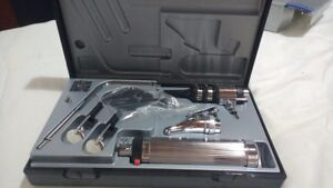 Riester Otoscope Ophthalmoscope Set In Hard Plastic Case Made In Germany
