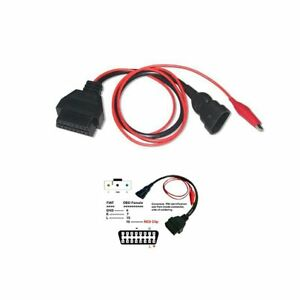3 Pin To 16 Pin Obd2 Adapter Connector Diagnostic Cable For Fiat Alfa Re
