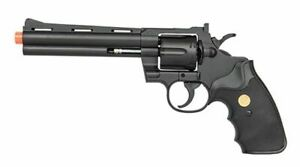 Uk Arms Spring Black Airsoft Revolver New $13.95