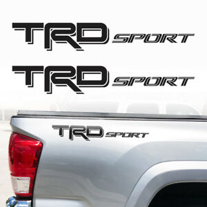 Trd Sport Tacoma Tundra Truck Toyota Decals Stickers Graphic Vinyl Cut Decal De
